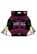 Ernie Ball 6075 Patch kabel dubbel haaks 30 cm 3-pack
