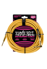 Ernie Ball 6070 Instrument cable 7.6 m (25FT) gold