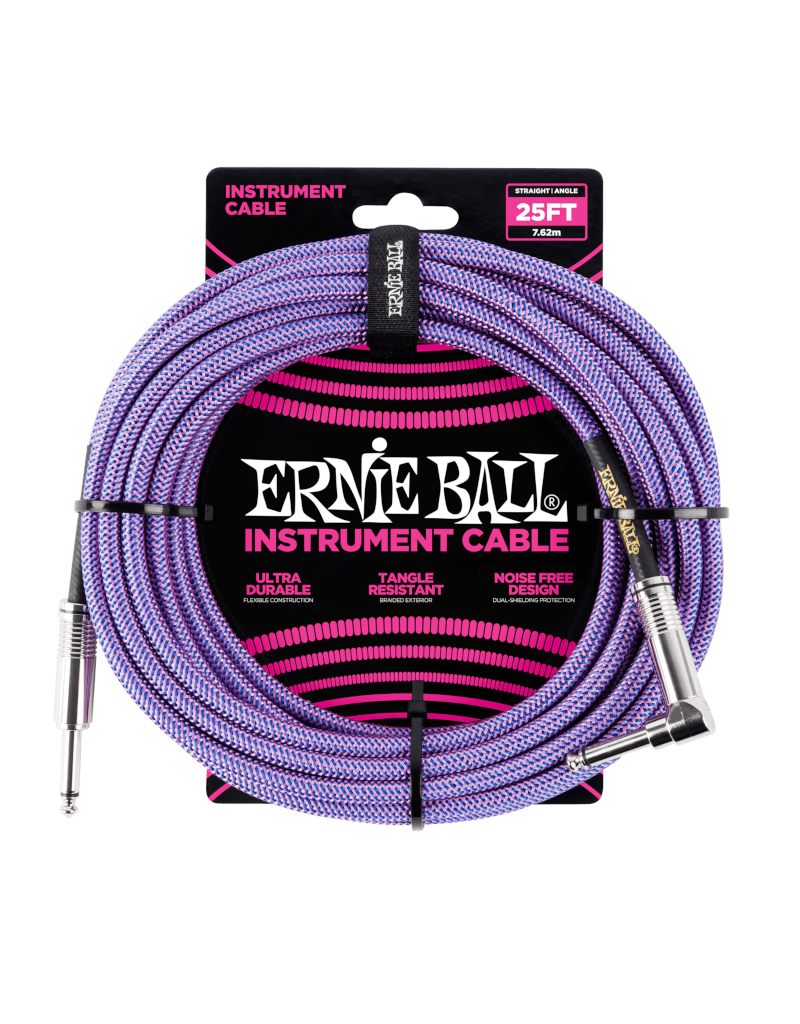 Ernie Ball 6069 Instrument kabel 7.6 m paars