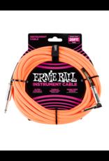Ernie Ball 6067 Instrument cable 7.6 m (25FT) orange