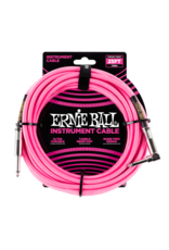 Ernie Ball 6065 Instrument cable 7.6 m (25FT) pink