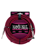 Ernie Ball 6062 Instrument cable 7.6 m (25FT) black/red