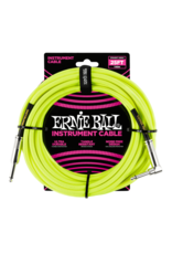 Ernie Ball 6057 Instrument cable 7.6 m (25FT) yellow