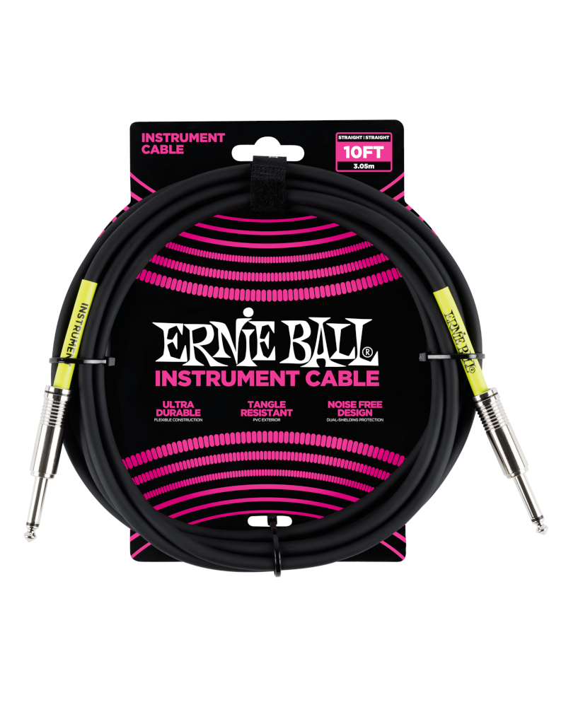 Ernie Ball 6048 Instrument kabel 3 m