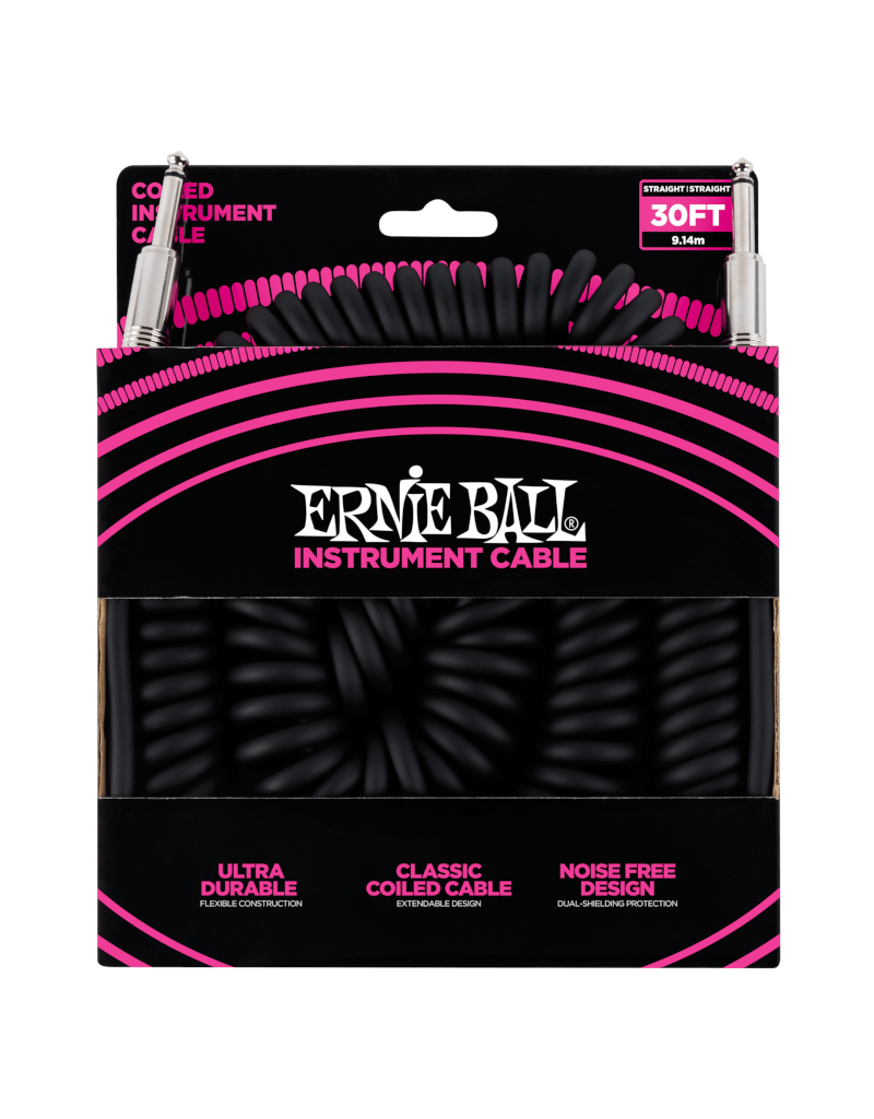 Ernie Ball 6044 Instrument cable 9 m (30FT) coiled