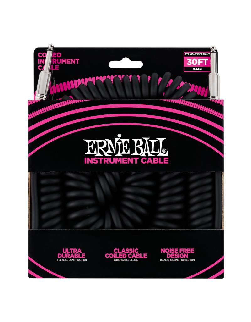 Ernie Ball 6044 Instrument kabel 9 m spiraal