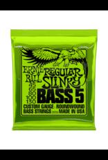Ernie Ball 2836 Regular slinky bass 5-snarig basgitaar snaren 045-130