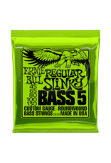 Ernie Ball 2836 Regular slinky bass 5-string bass guitar strings 045-130
