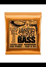 Ernie Ball 2833 Extra slinky bass, bass guitar strings 045-105