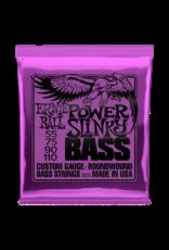Ernie Ball 2831 Power slinky bass basgitaar snaren 055-110
