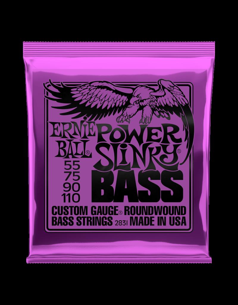 Ernie Ball 2831 Power slinky bass, bass guitar strings 055-110