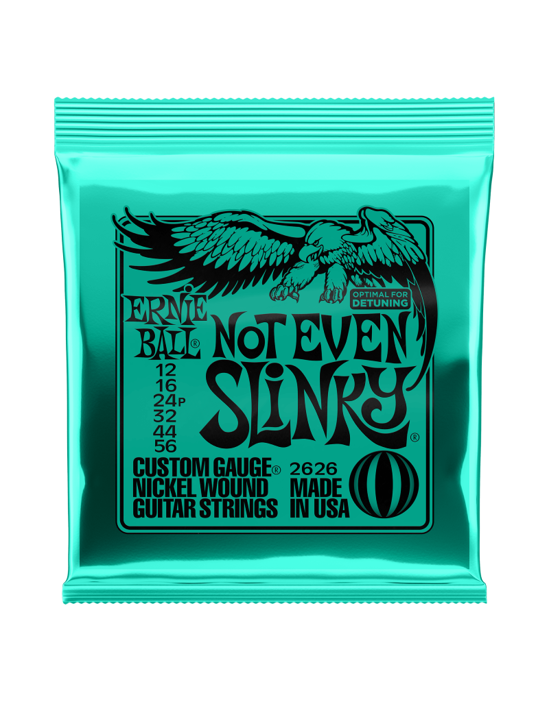 Ernie Ball 2626 Not even slinky electric guitar strings 012-056