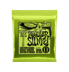 Ernie Ball Regular slinky guitar strings 010-046