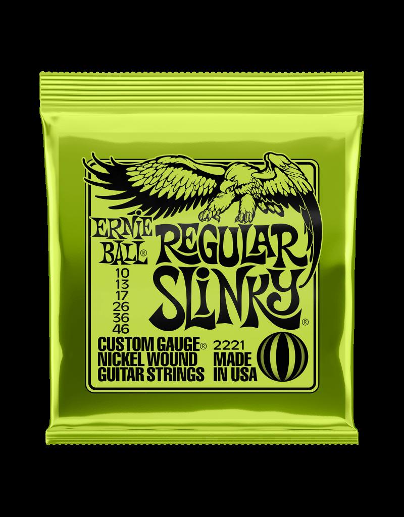 Ernie Ball 2221 Regular slinky electric guitar strings 010-046