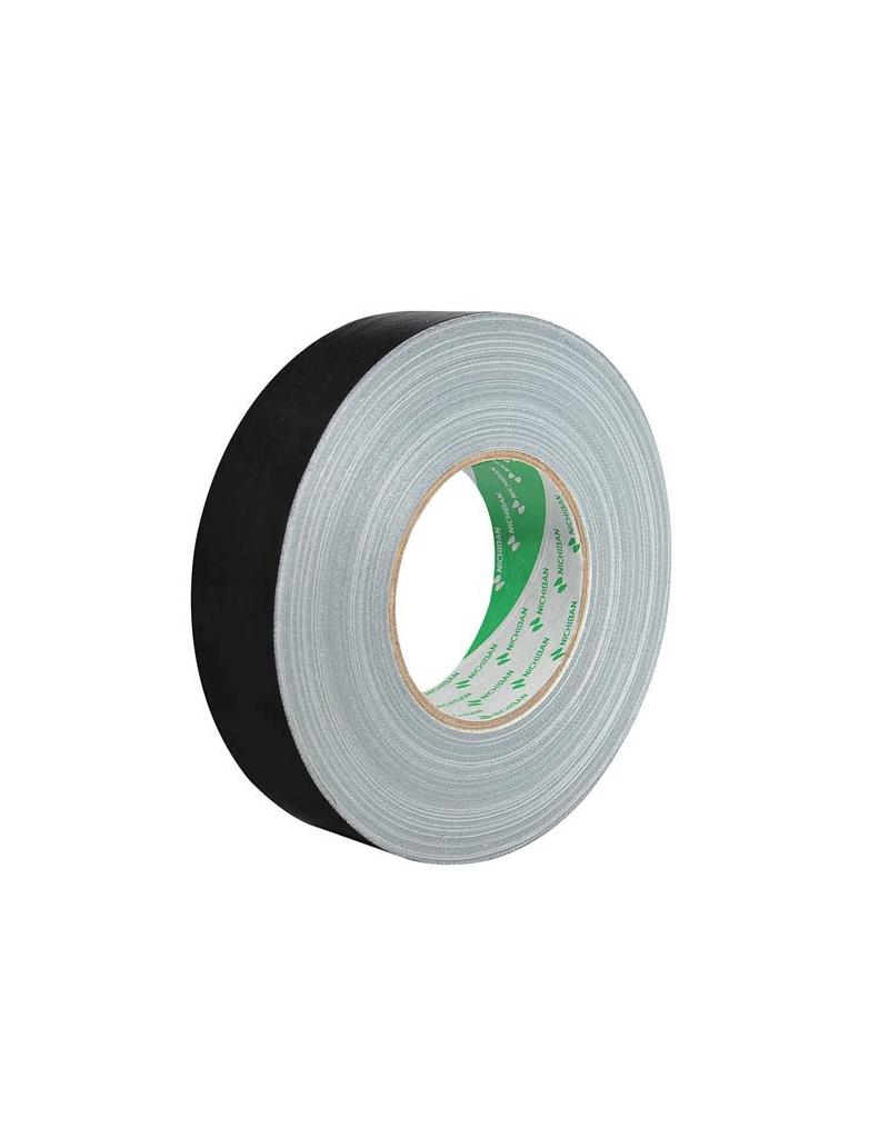 Nichiban Gaffa tape 38 mm, 50 meter, zwart