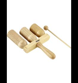 NINO Wooden a-go-go's 3-tones