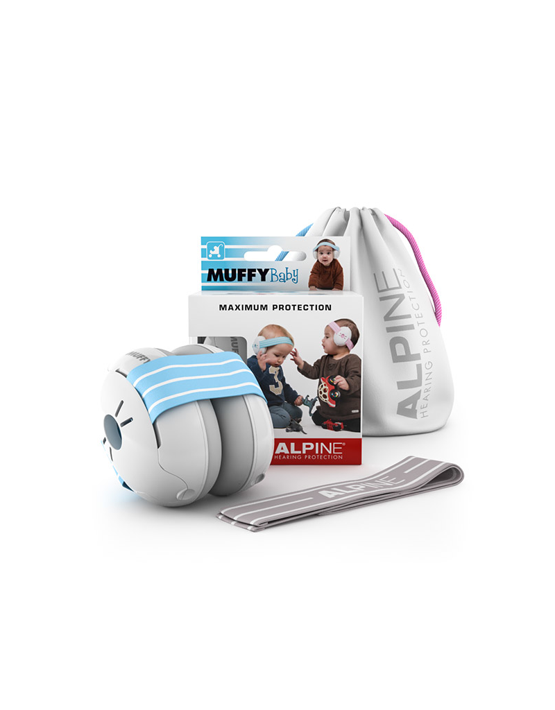 Alpine Muffy baby hearing protection pink