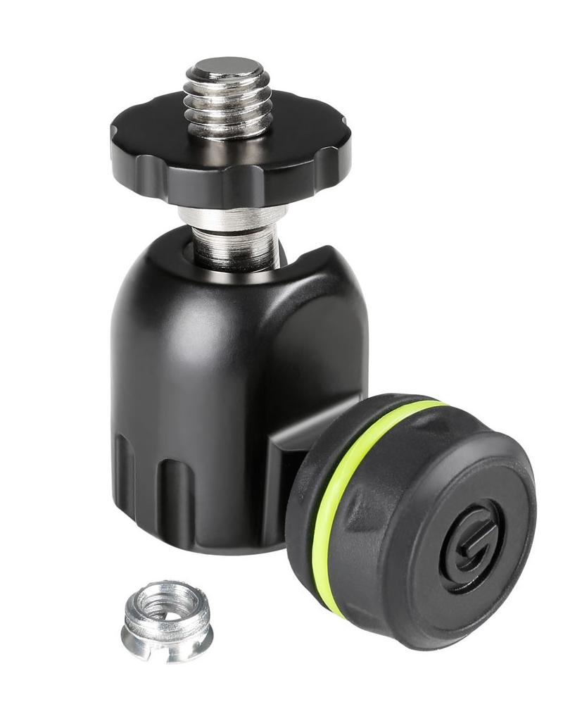 Gravity MSQT-1B Quick tilt ball-joint microfoon adapter