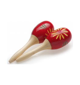 Stagg Maracas flower red