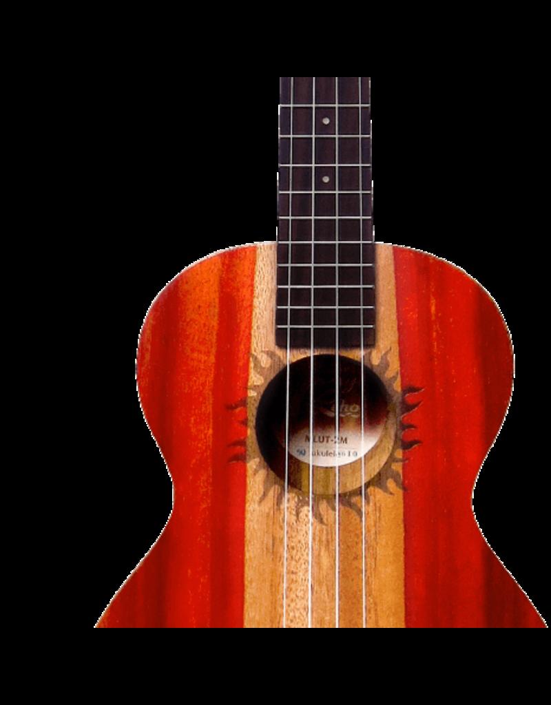 Leho MLUT-2M Tenor ukulele 2-tone mahogany