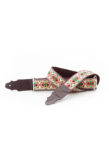 RightOn! Lollapalooza Beige Guitar strap
