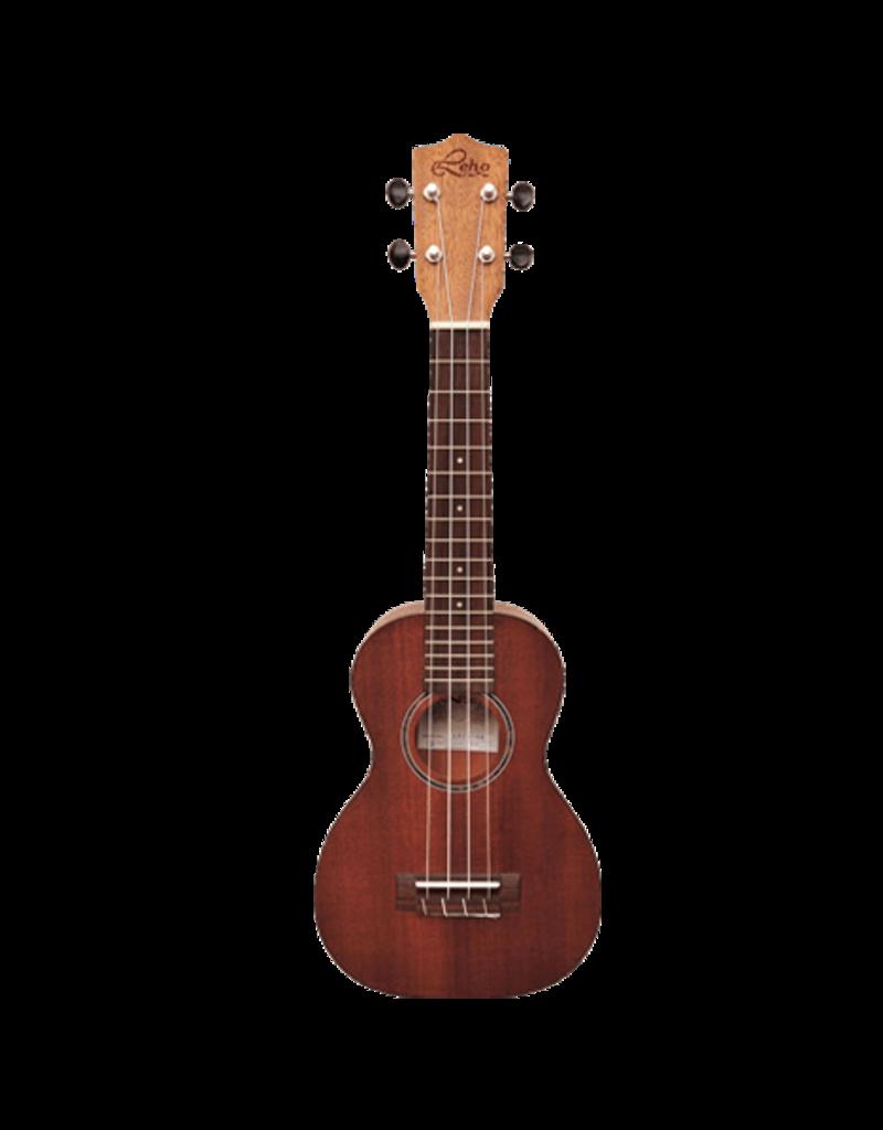 Leho LHUS-MM Soprano ukulele mahogany