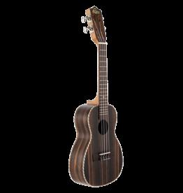 Leho Concert ukulele ebony
