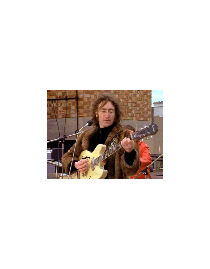 Souldier Lennon rooftop guitar strap