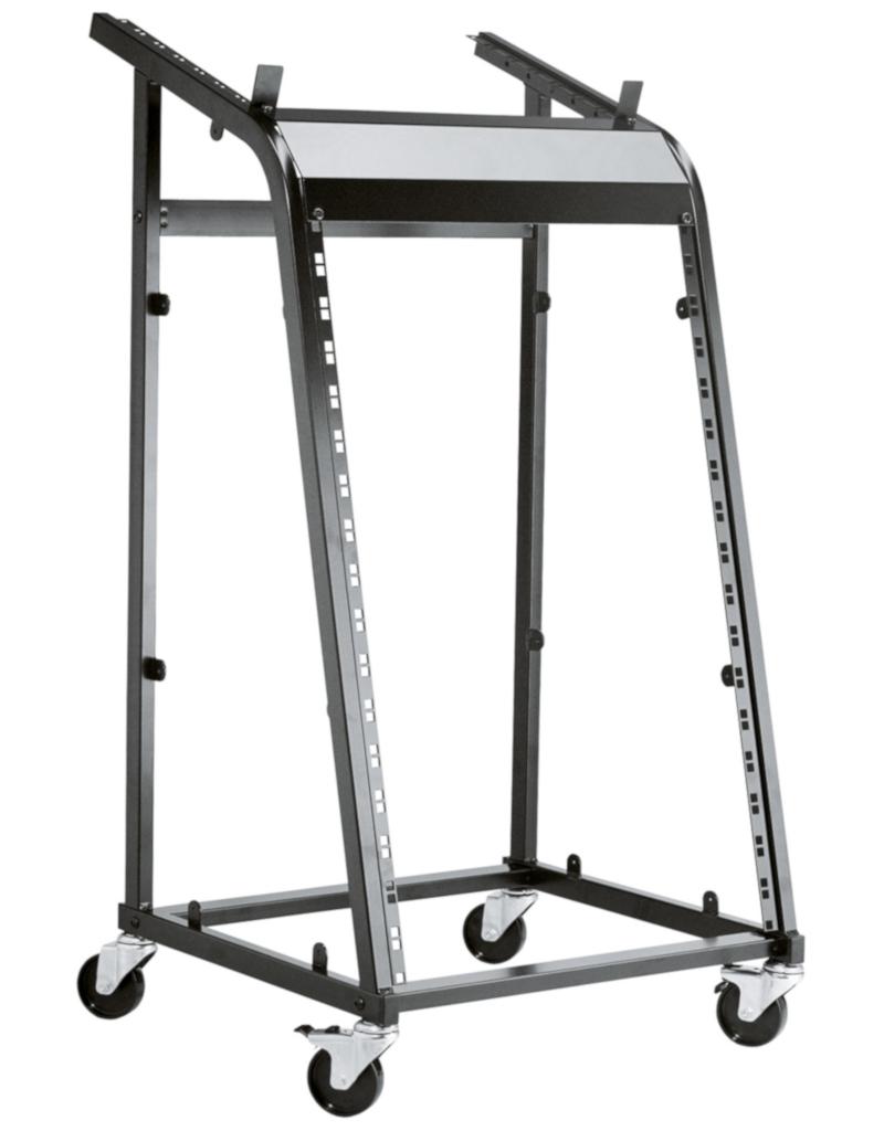 """K&M 28200 19""""rack on wheels"""