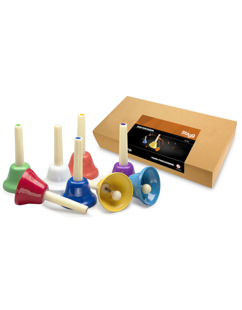 Stagg Hand Bell Set