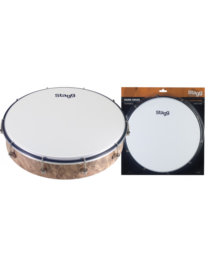 """Stagg HAD 012W Handdrum 12"""" tunable"""