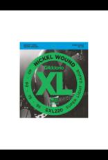 D'addario EXL220 Long scale bass guitar strings 040-095