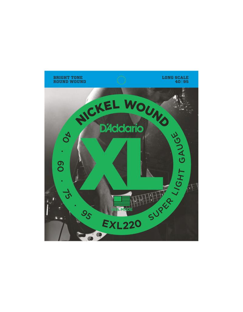 D'addario EXL220 Long scale basgitaar snaren 040-095