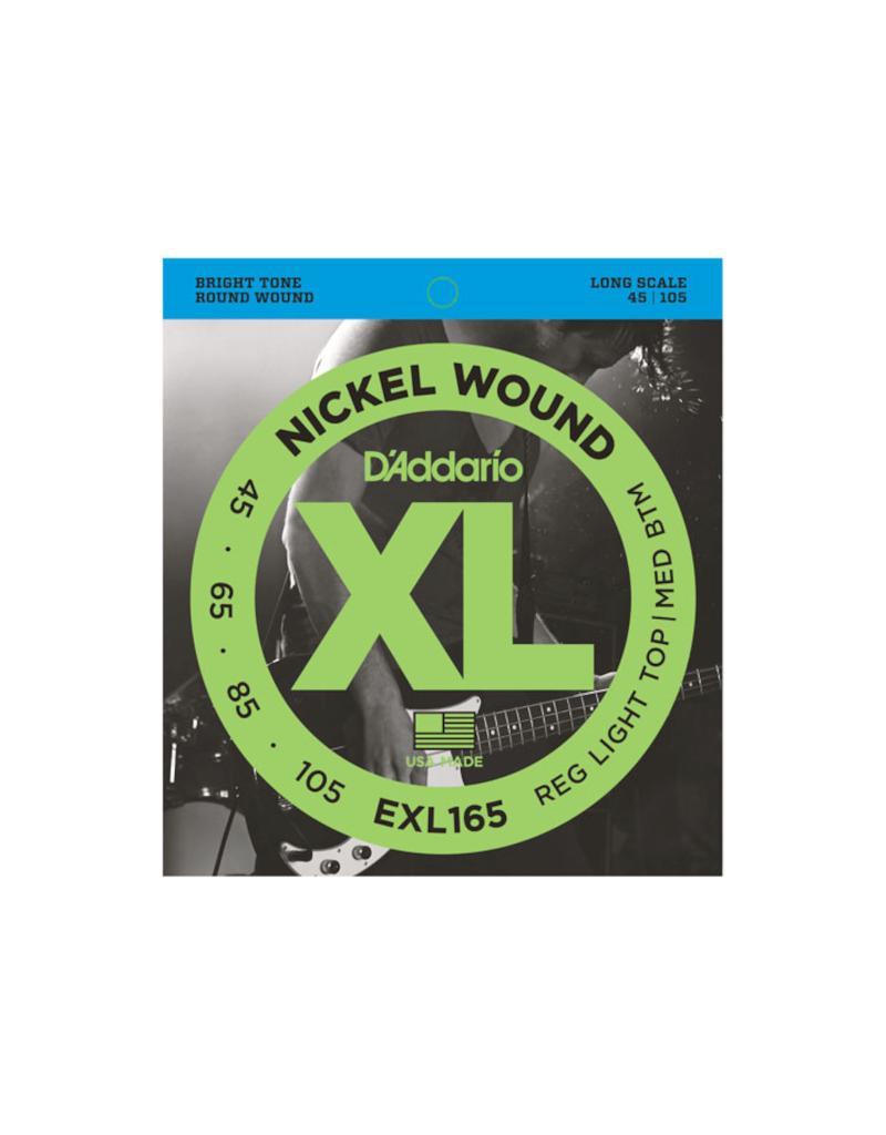 D'addario EXL165 Long scale bass guitar strings 045-105