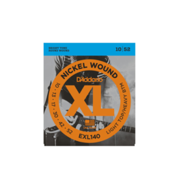 D'addario EXL140 Electric guitar strings 010-052