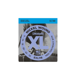 D'addario Electric guitar strings 011-052