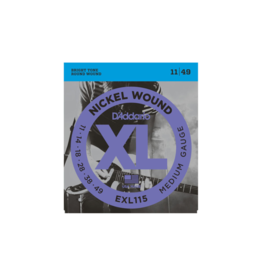 D'addario Electric guitar strings 011-049