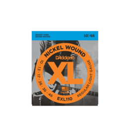 D'addario EXL110 Electric guitar strings 010-046