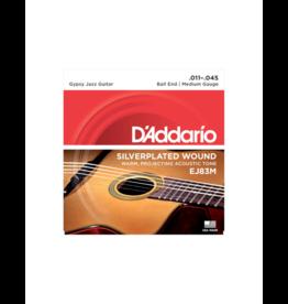 D'addario EJ83M Gypsy jazz guitar strings 011-045