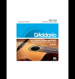 D'addario EJ83L Gypsy jazz guitar strings 010-044