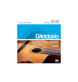 D'addario Gypsy jazz guitar strings 010-044