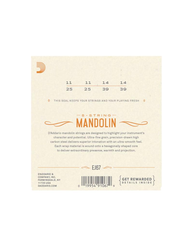 D'addario EJ67 Medium mandoline snaren 011-039