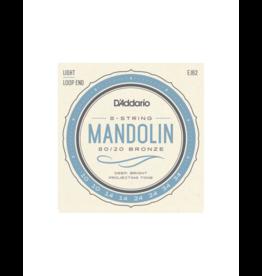 D'addario EJ62 Mandoline snaren 010-034