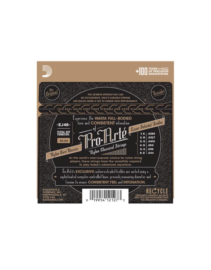 D'addario EJ46 Hard tension klassiek gitaar snaren
