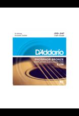 D'addario EJ38 Light 12-string acoustic guitar strings 010-047
