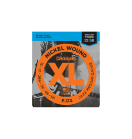 D'addario EJ22 Jazz guitar strings 013-056
