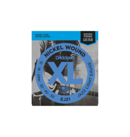 D'addario EJ21 Jazz guitar strings 012-052