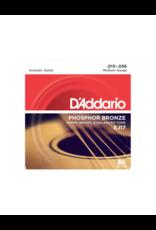 D'addario EJ17 Medium acoustic guitar strings 013-056