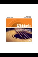D'addario EJ15 Extra light acoustic guitar strings 010-047