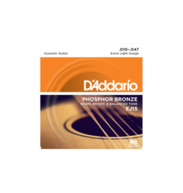 D'addario Acoustic guitar strings 010-047